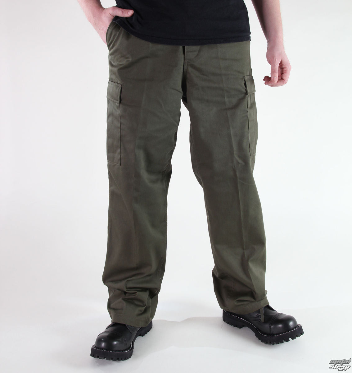 nohavice pánske MIL-TEC - US Ranger Hose - Oliv - 11810001
