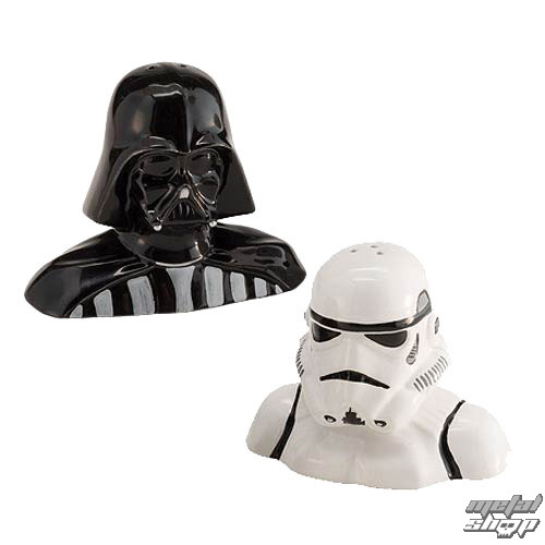 set (soľnička a korenička) STAR WARS - Darth Vader and Stormtrooper - JOY54017