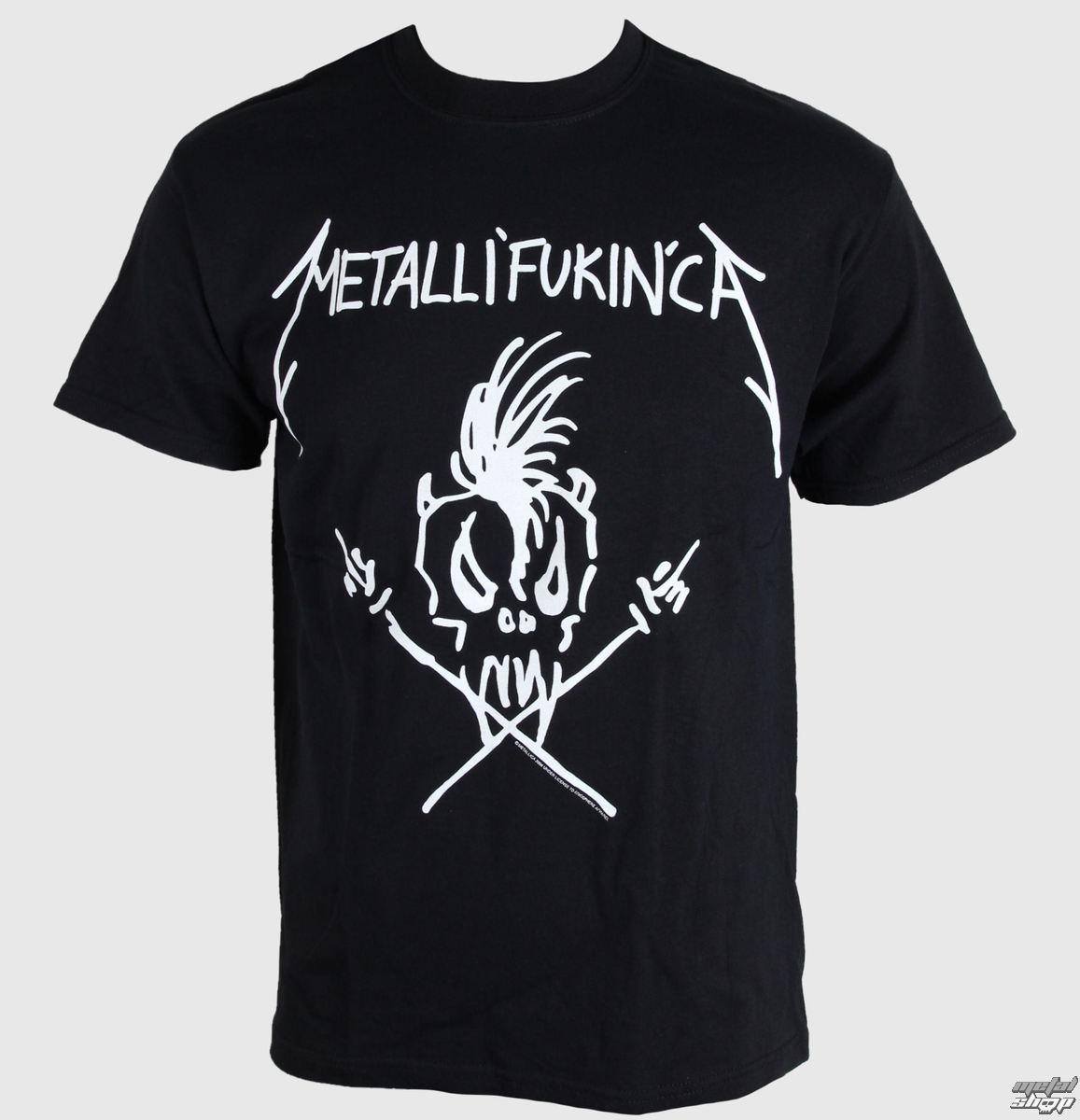 tričko pánske Metallica - Metalifukinca - Black - META499 - LIVE NATION