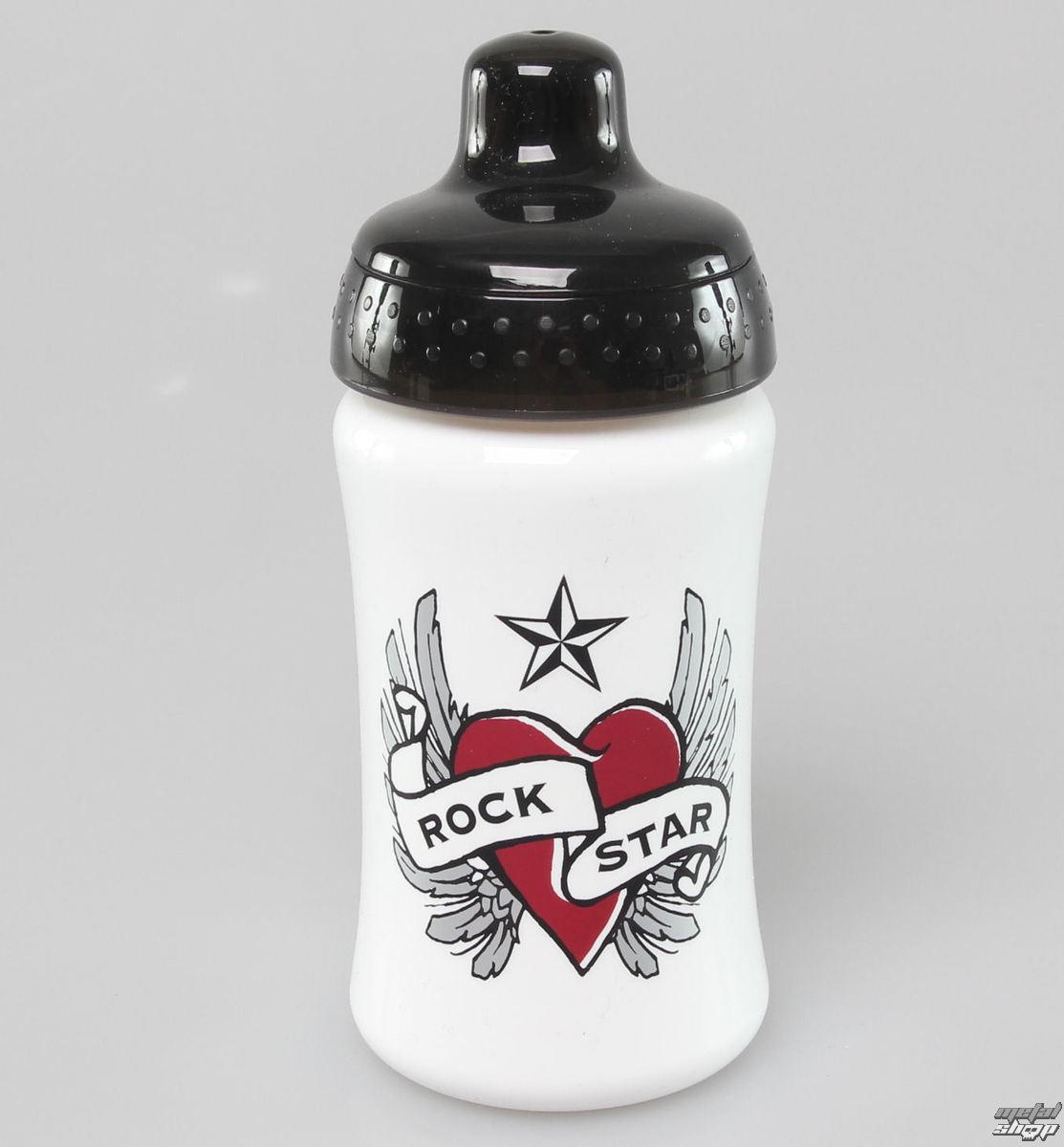 fľaša ROCK STAR BABY - Srdce - 90801