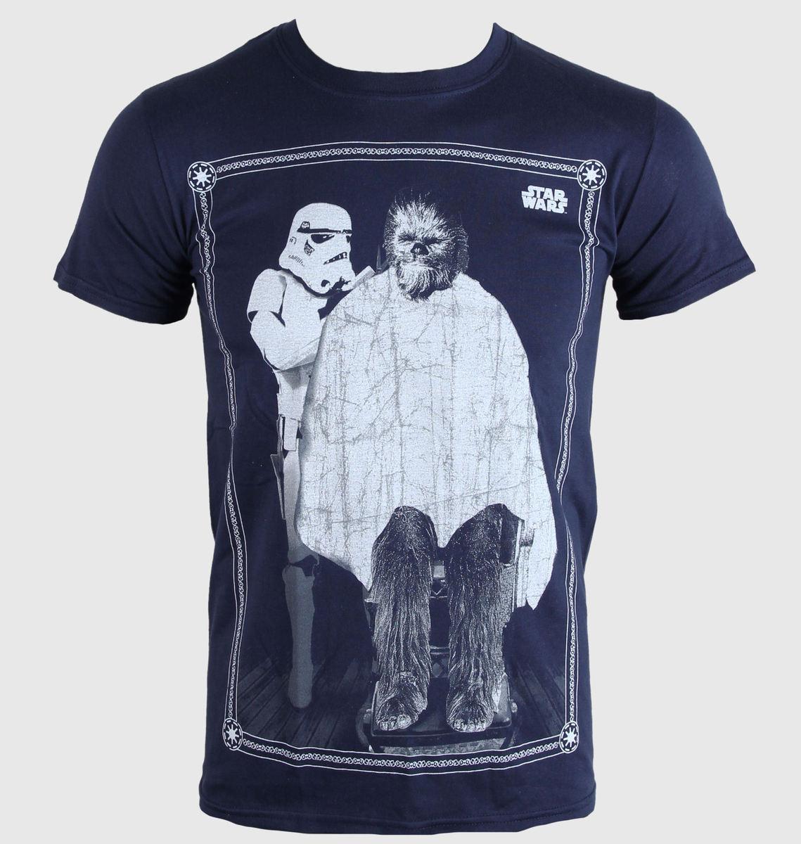 tričko pánske Star Wars - Chewie Haircut - PLASTIC HEAD - PH8055