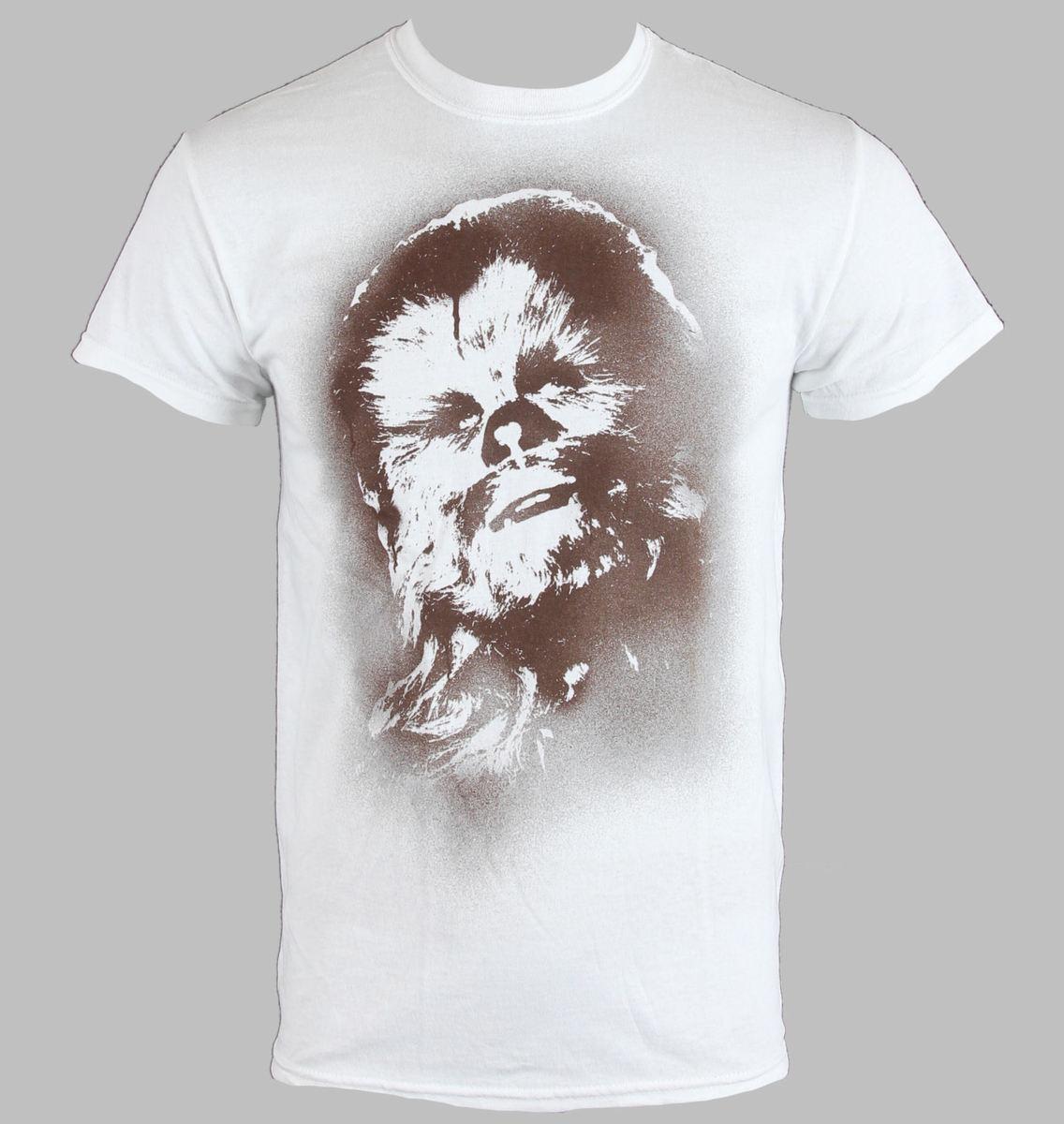 tričko pánske Star Wars - Chewy - PLASTIC HEAD - PH7844