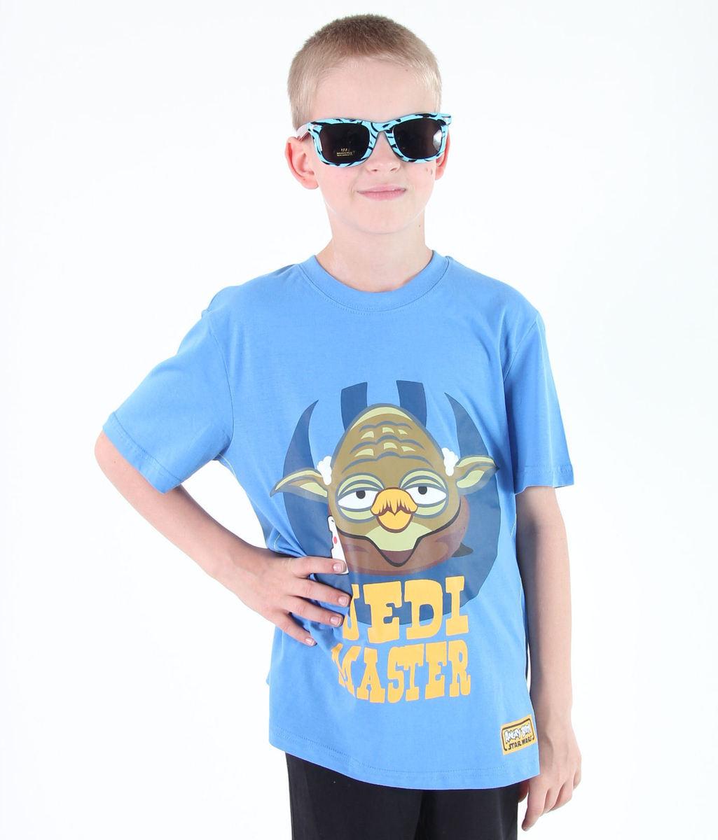 tričko chlapčenské TV MANIA - Angry Birds - Blue - SWAB 325