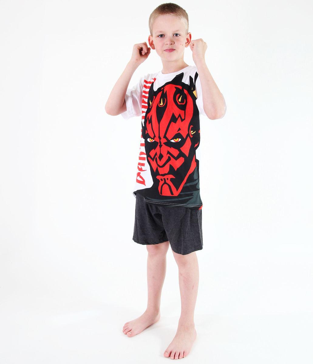 pyžamo chlapčenské TV MANIA - Star Wars Clone - White - CLON 818