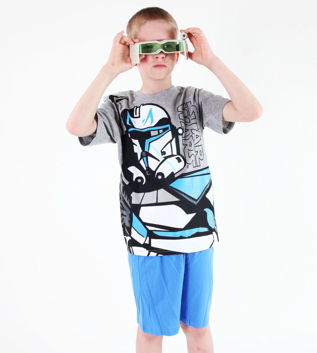 pyžamo chlapčenské TV MANIA - Star Wars Clone - Grey - CLON 819