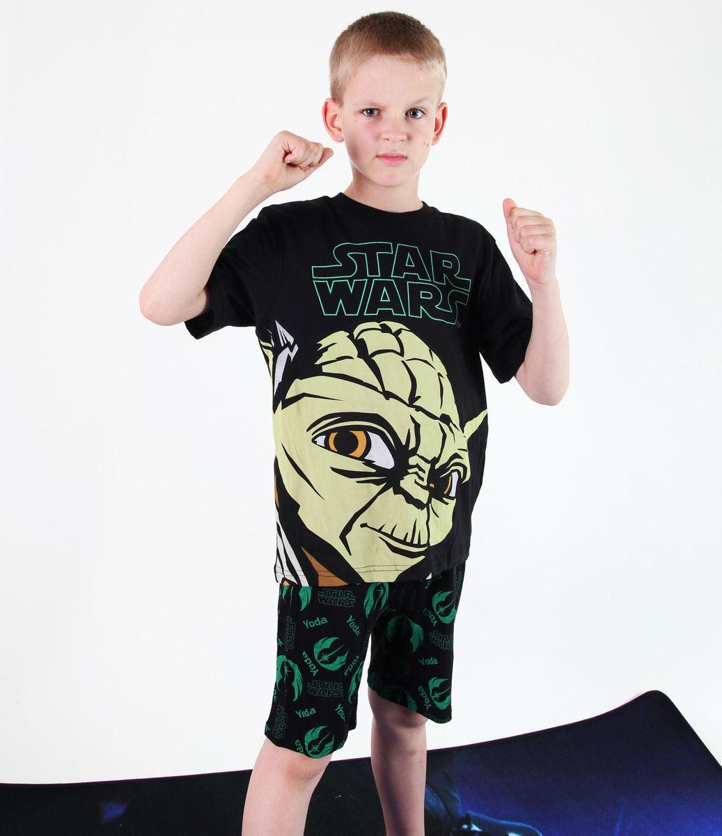 pyžamo chlapčenské TV MANIA - Star Wars - Black - CLON 820