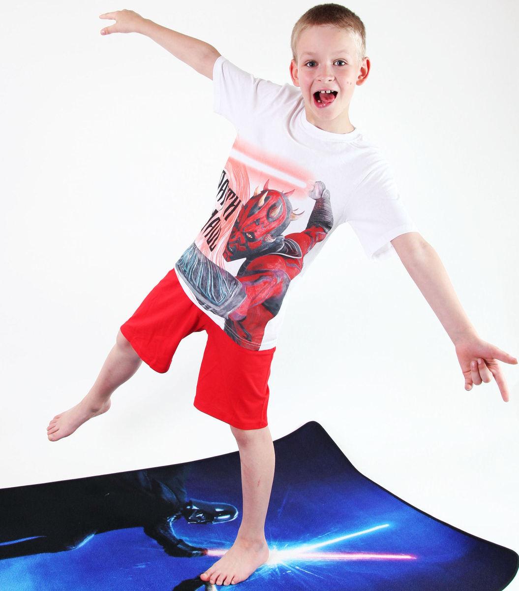 pyžamo chlapčenské TV MANIA - Star Wars Clone - White - CLON 822