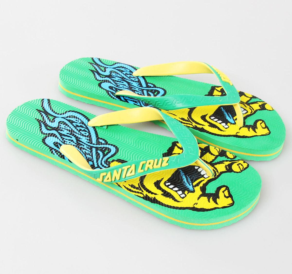 sandále SANTA CRUZ - Screaming Speed - Green - MAFSP