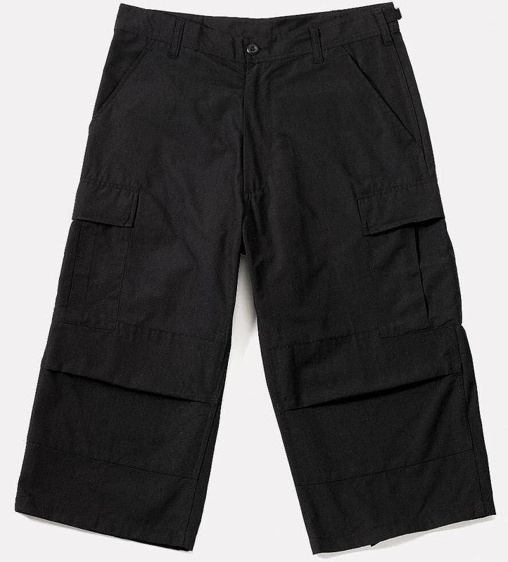 3/4 nohavice pánske ROTHCO - Capri - BLACK - 8351
