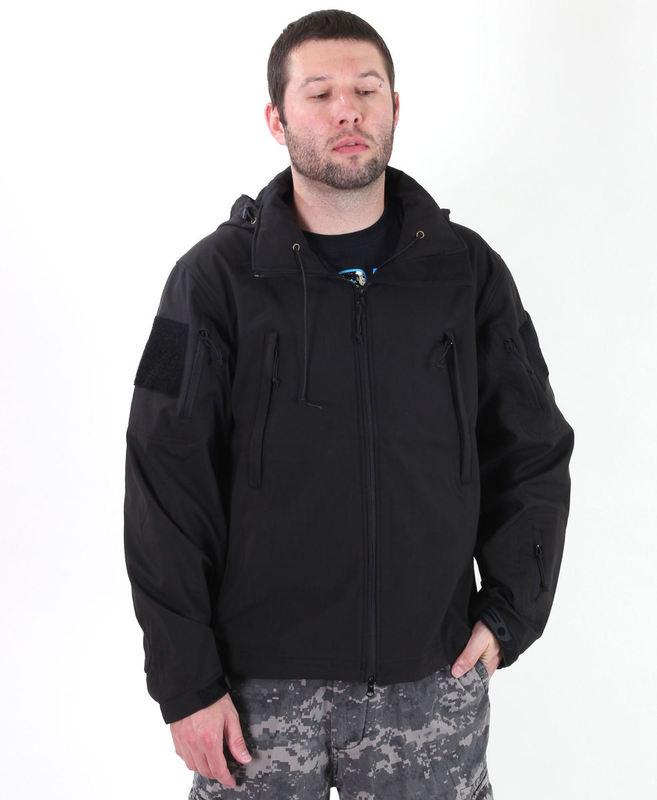 bunda pánska jarno/jesenná (softshell) ROTHCO - SPECIAL OPS - BLK - 9767