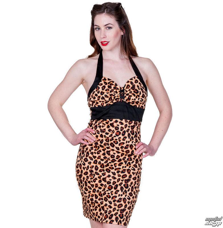 šaty dámske BANNED - Retro Leopard - DBN515NAT