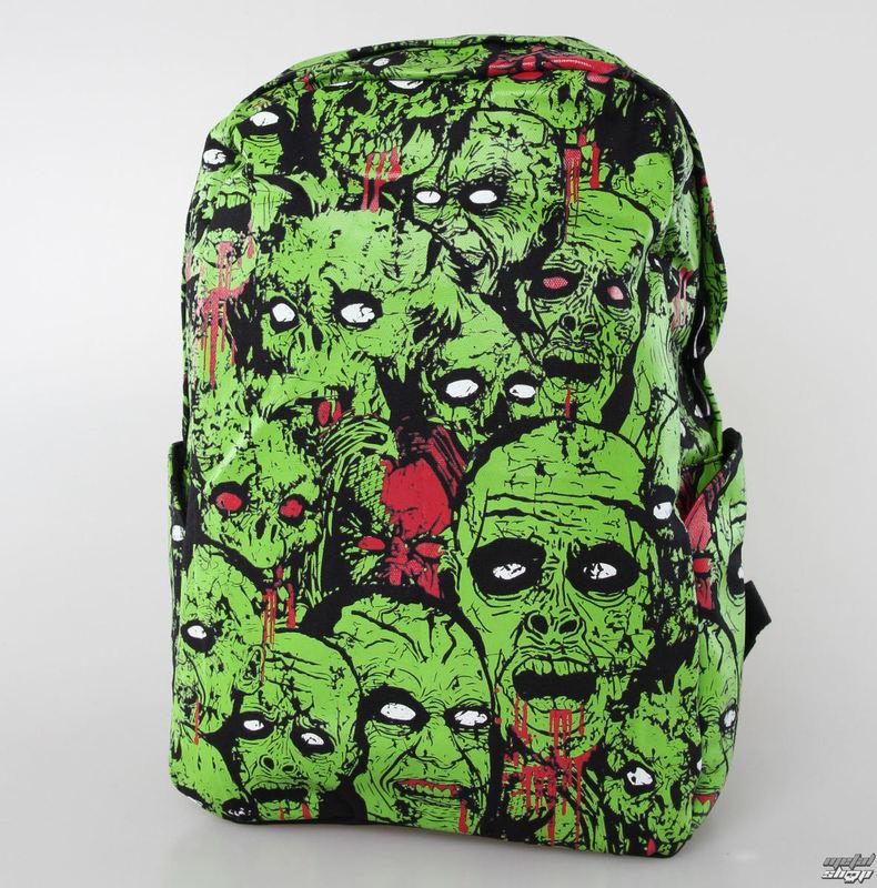 batoh BANNED - Zombie - Black / Green - BBN765GREEN