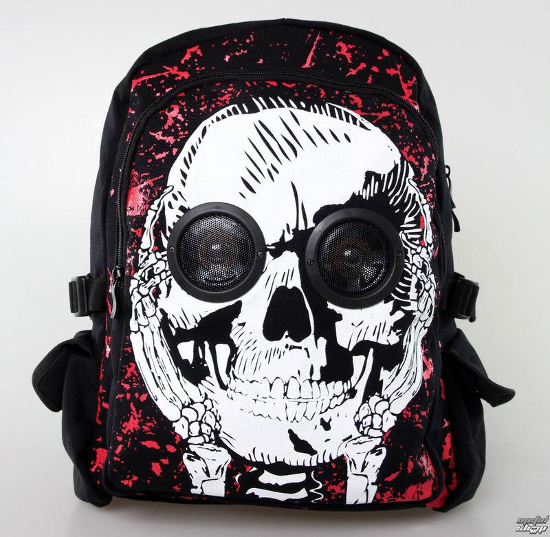 batoh BANNED - Skull Speaker - Black - BBN723