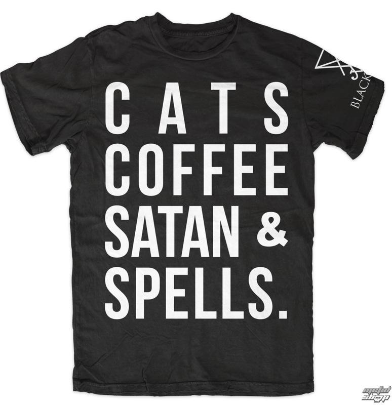 tričko pánske BLACK CRAFT - All You Need - Black - MT055AD