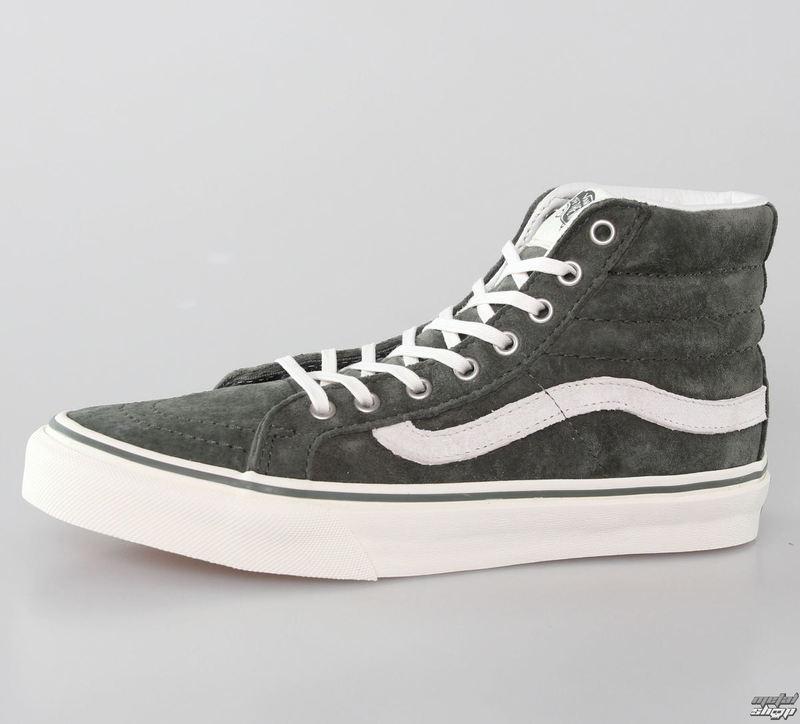 topánky dámske VANS - U SK-Hi Slim - Scotchgard - BEETLE-MARSHMALLOW - VXH7DO1