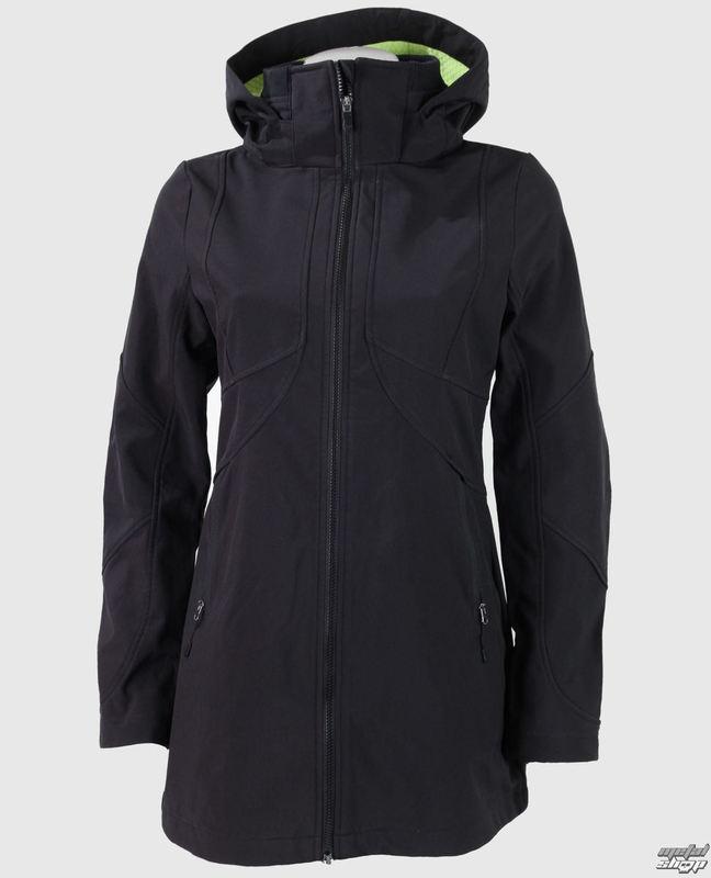 bunda (kabátik) dámska jarno/jesenná FOX - Revving Coat - Black