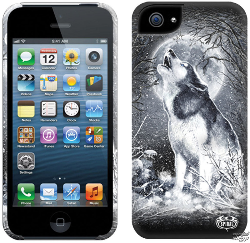 kryt na mobil SPIRAL - WHITE WOLF - IPHONE - TR324574