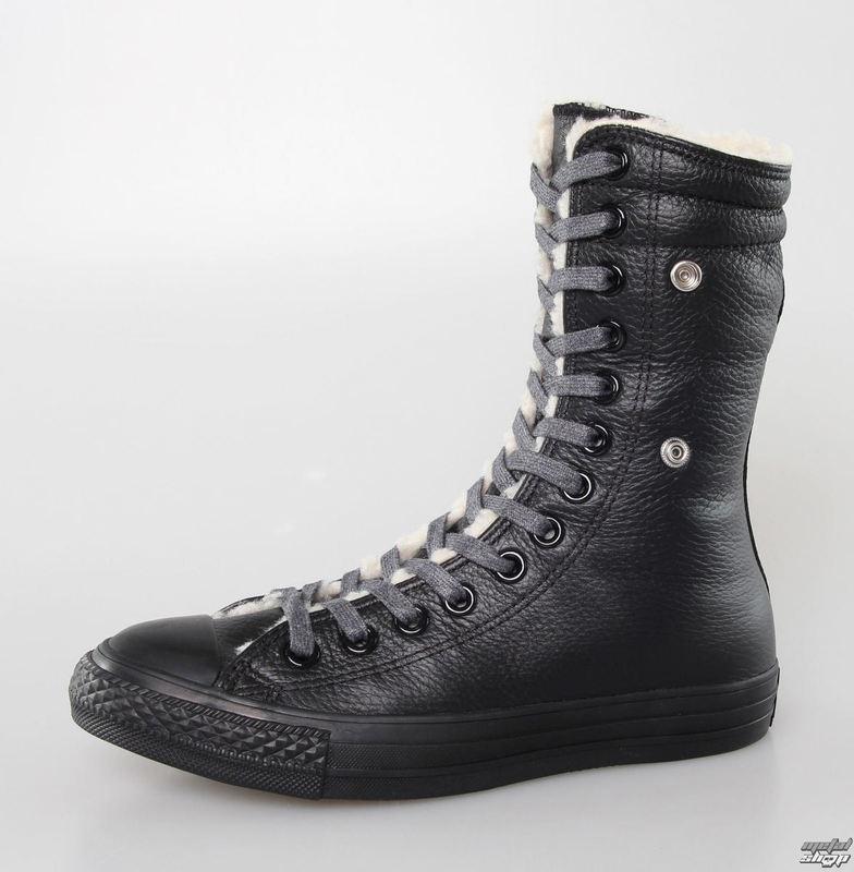 581ee66efaa6 topánky dámske zimný CONVERSE - Chuck Taylor All Star Knee-Hi - Black