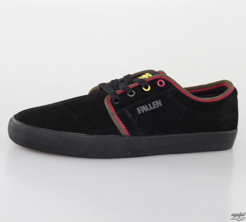 topánky pánske FALLEN - Forte 2 - Black/Rasta - 41070093