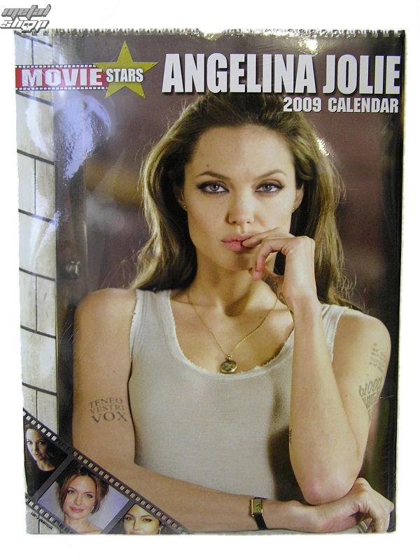 kalendár na rok 2009 - Angelina Jolie 1