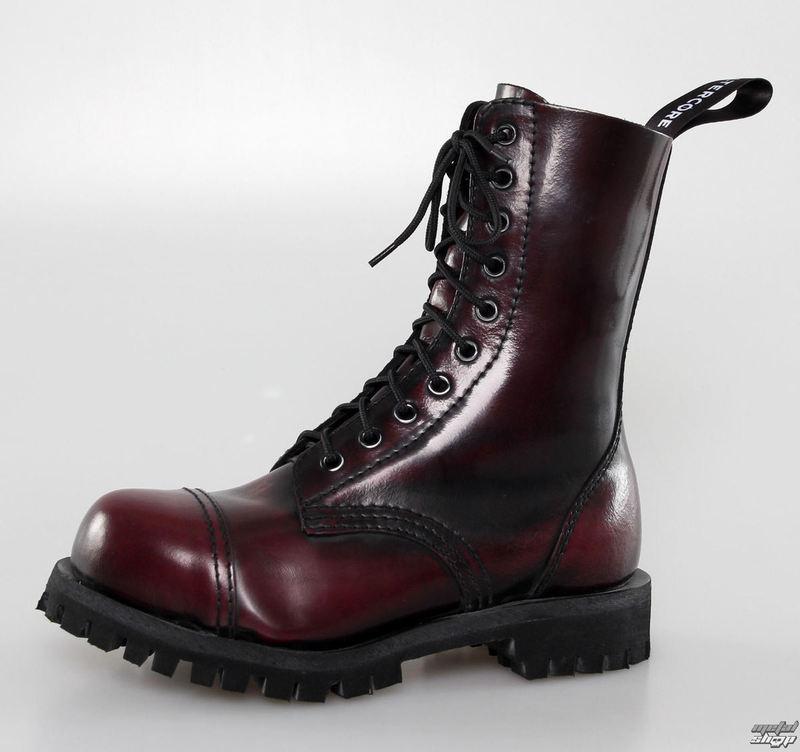 topánky ALTER CORE - 10dírkové - Burgundy Rub-Off - 551