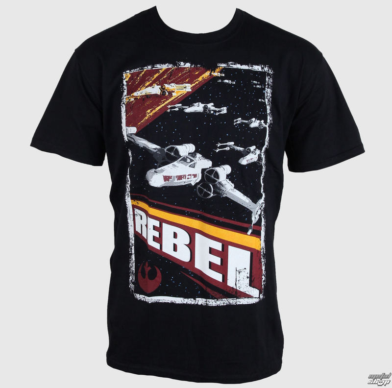 tričko pánske Star Wars - Rebel - PLASTIC HEAD - PH8317