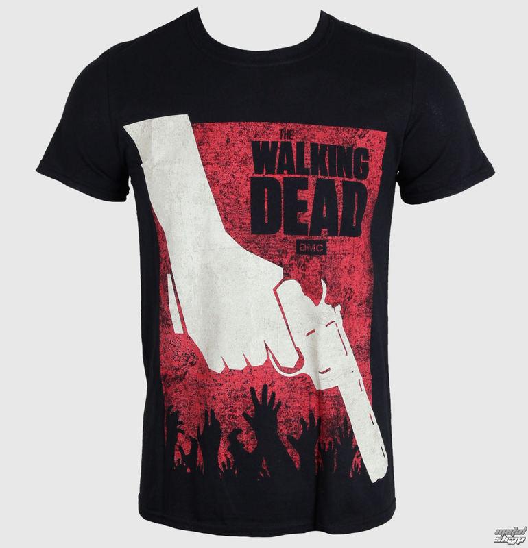 tričko pánske The Walking Dead - Revolver - PLASTIC HEAD - PH8589