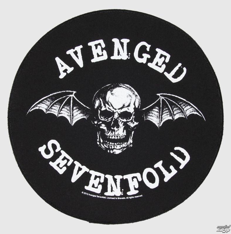 nášivka veľká Avenged Sevenfold - Death Bat - RAZAMATAZ - BP871
