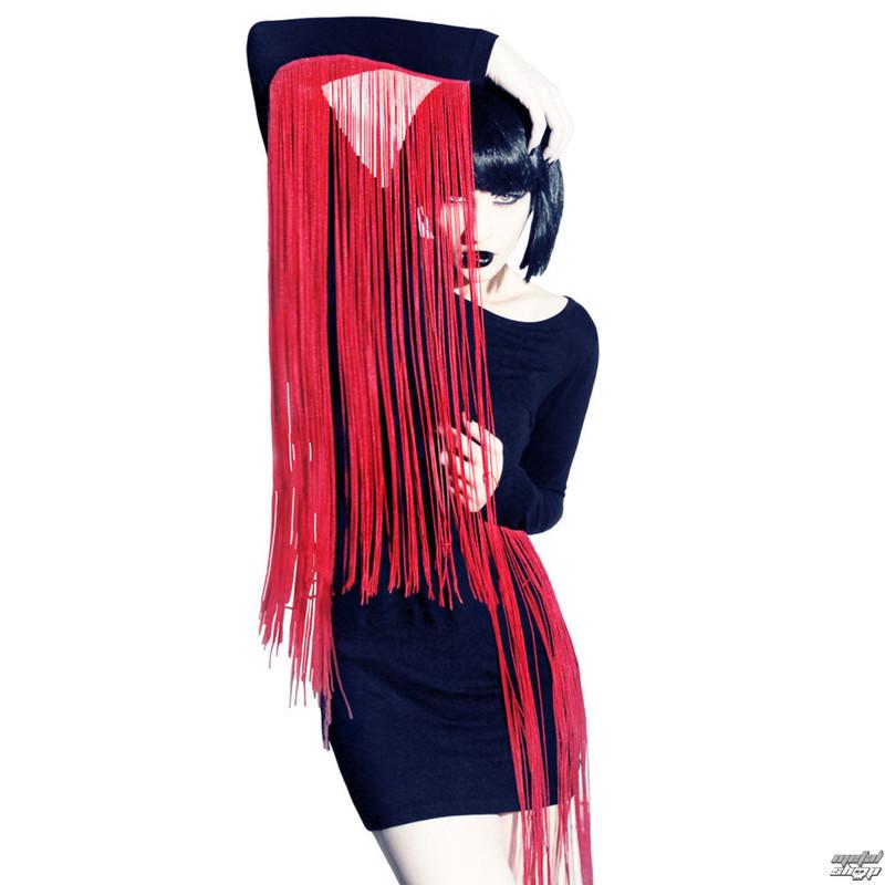 šaty dámske KILLSTAR - Huntress - Black / Red