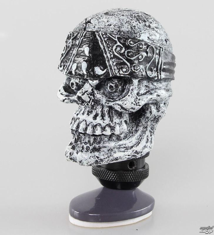 dekorácia (hlavica radiacou páky) LETHAL THREAT - Skull Head Shift Knob - SK00020