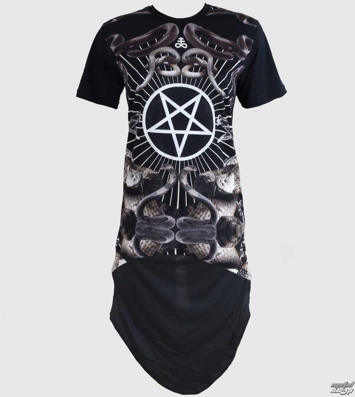 šaty dámske (tunika) KILLSTAR - Serpentine - Black