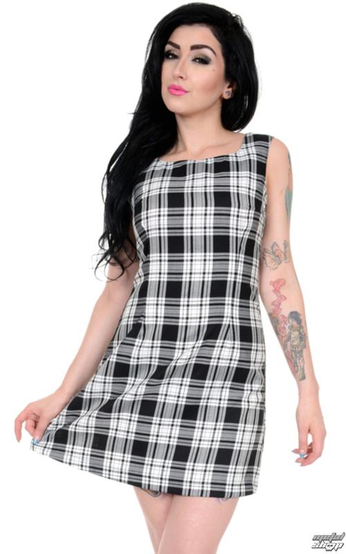 šaty dámske 3RDAND56th - 60s Retro - Black/White - JM1284