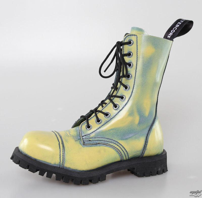topánky ALTER CORE - 10dírkové - Yellow Rub-Off - 551