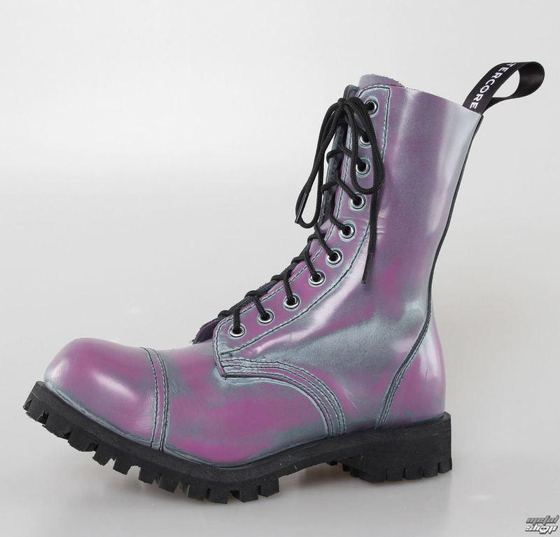 topánky ALTER CORE - 10dírkové - Purple Rub-Off - 551