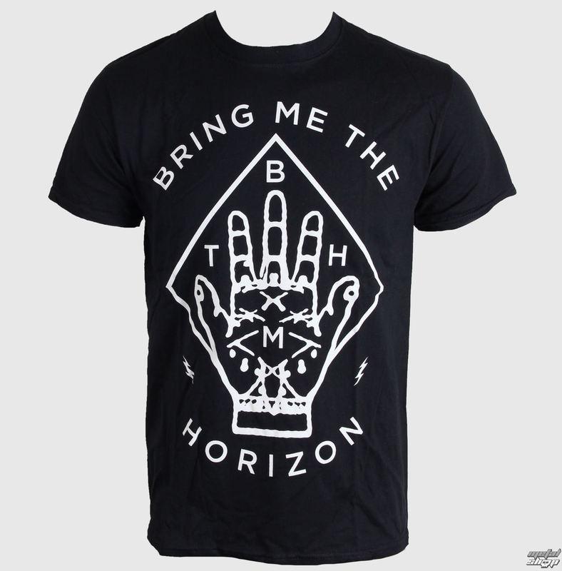 tričko pánske Bring Me The Horizon - Diamond Hand - Black - ROCK OFF - BMTHT16MB