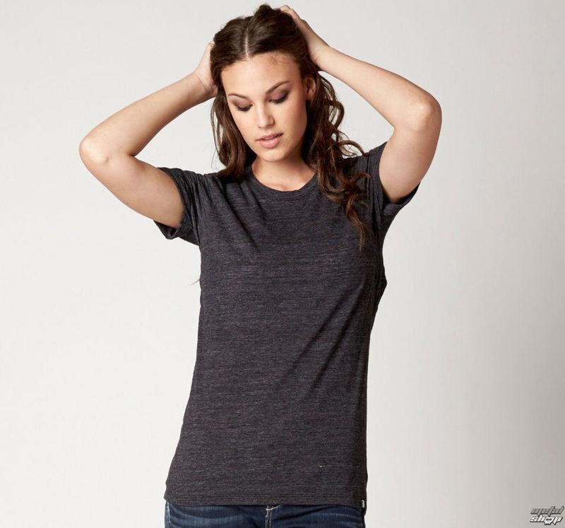 tričko dámske (top) FOX - Veil - Black