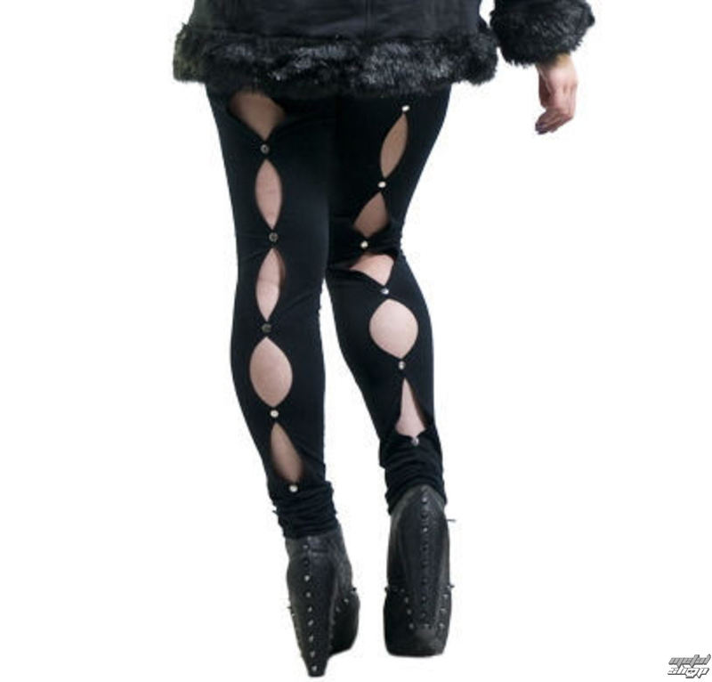nohavice dámske (legíny) NECESSARY EVIL - Circe - Black - N1067