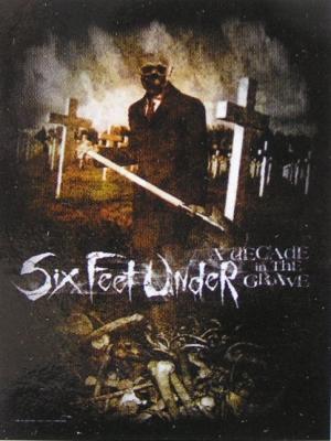 vlajka Six Feet Under - Decade In The Grave - HFL 827