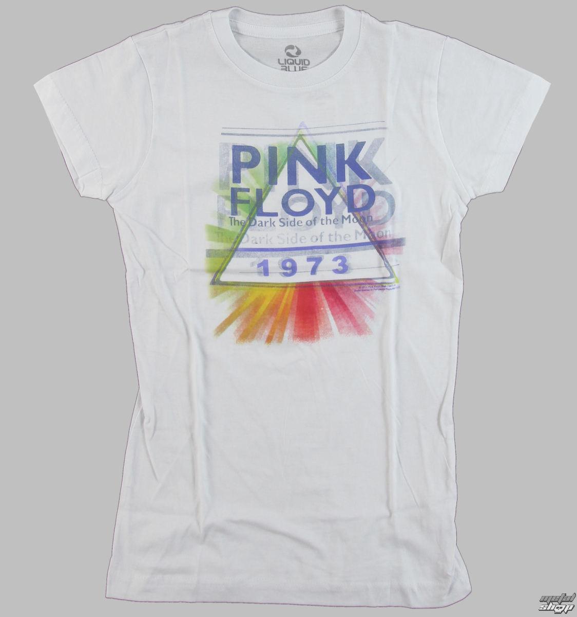 tričko dámske Pink Floyd - Dark Side Mist - LIQUID BLUE - 23807