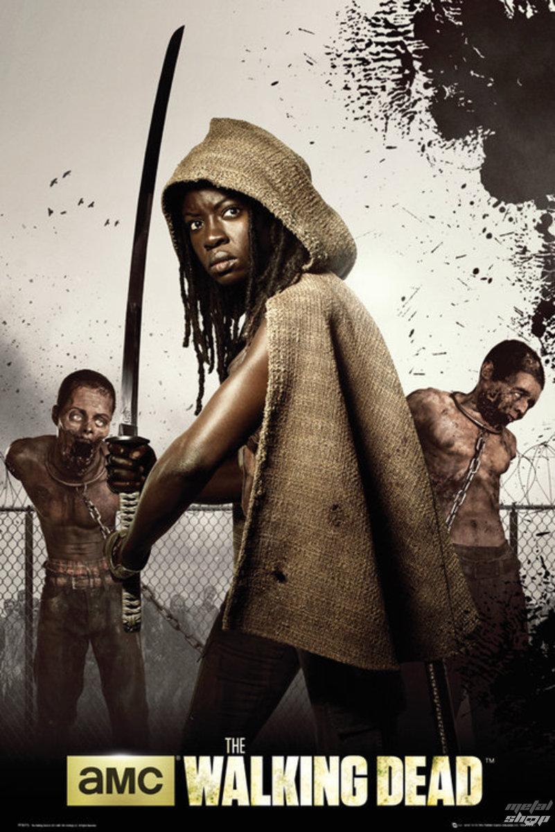 plagát The Walking Dead - Dead Michonne - GB Posters - FP3073
