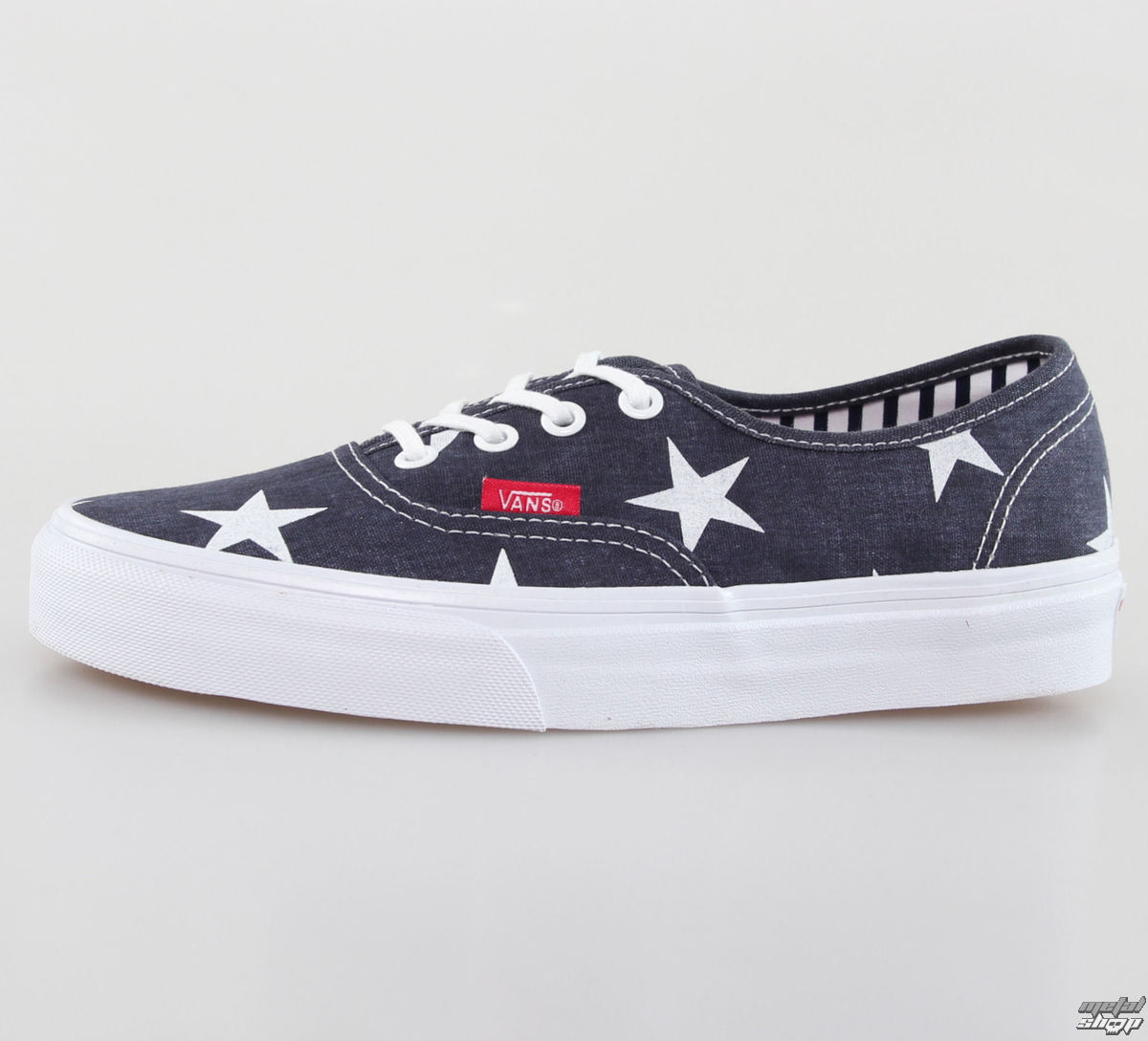 topánky VANS - U Authentic - Stars Stripe - True White - VZUKFL9