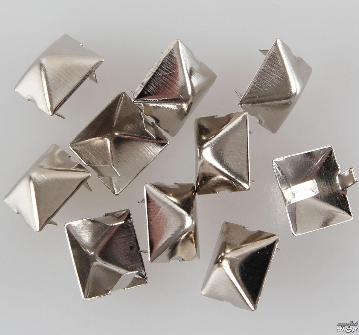 pyramídy kovové - 10ks - CW-044