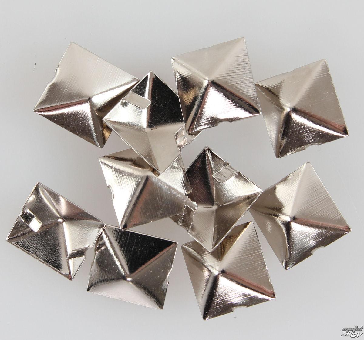 pyramídy kovové - 10ks - CW-032