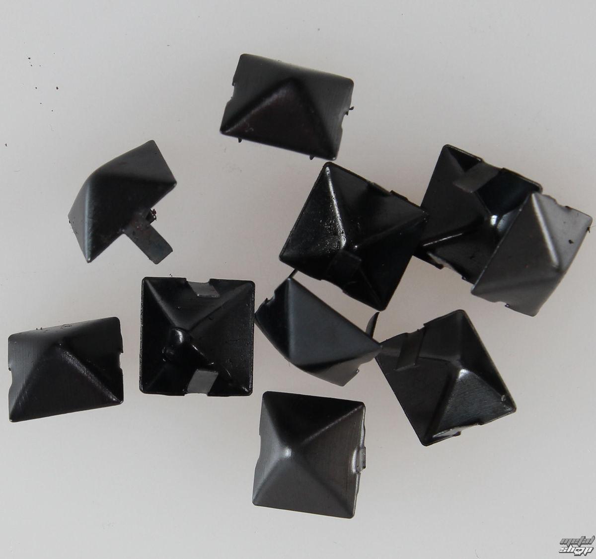pyramídy kovové BLACK - 10ks - CW-076