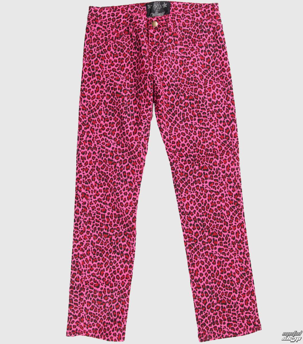 nohavice dámske COL LECTIF - Pink - CLO3