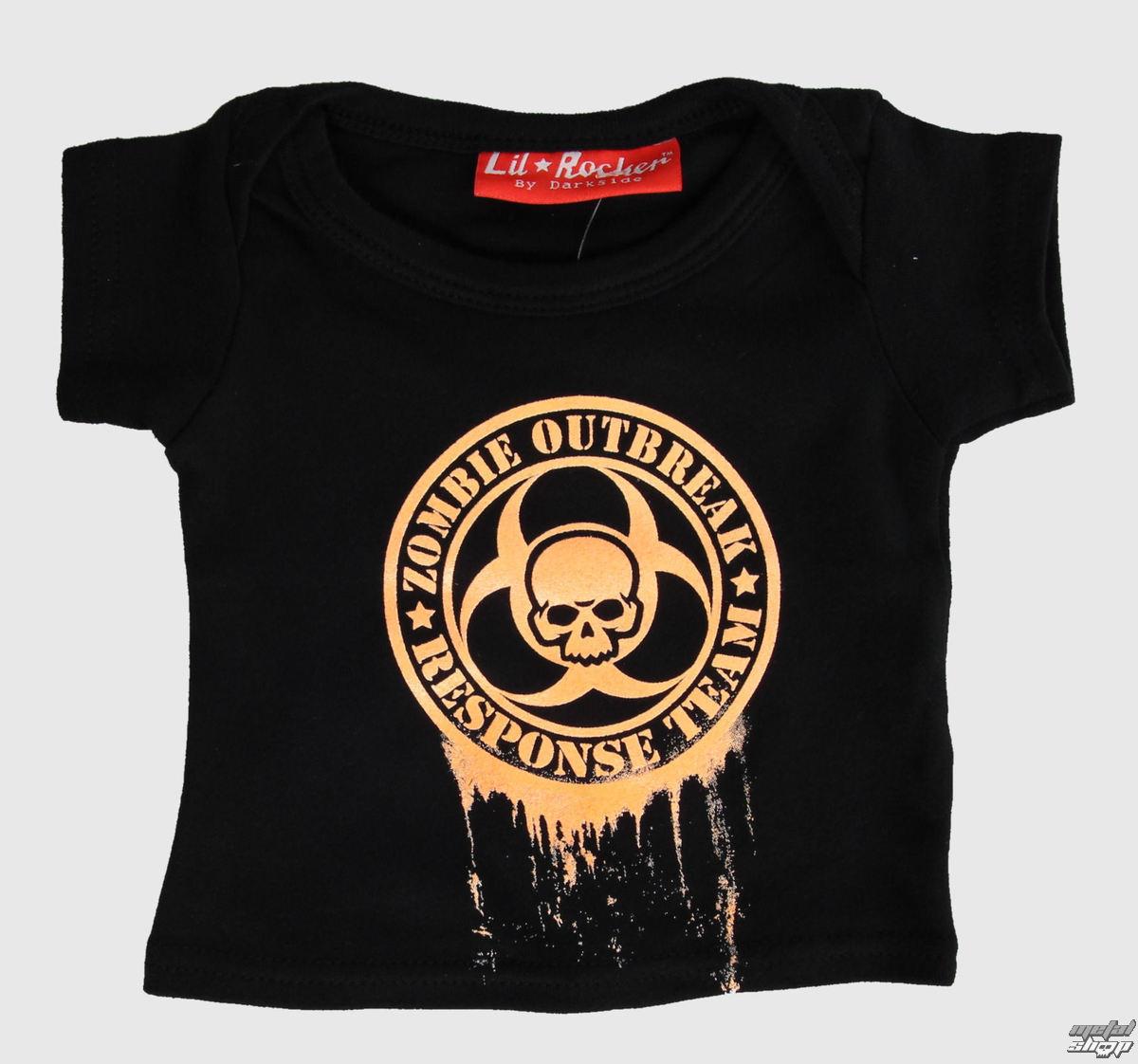 tričko detské LIL ROCKER - Black - DS0401