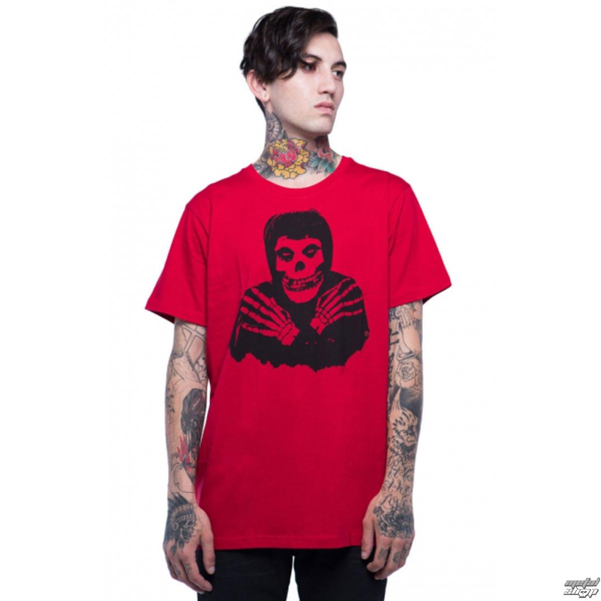 tričko pánske IRON FIST - Misfits - Red - IFMSSST007