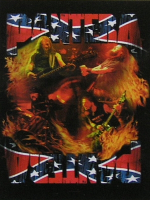 vlajka Pantera - Band South - HFL0846