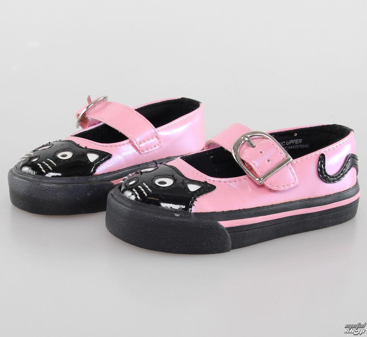 topánky detské TUK- Pink/Black - A6764