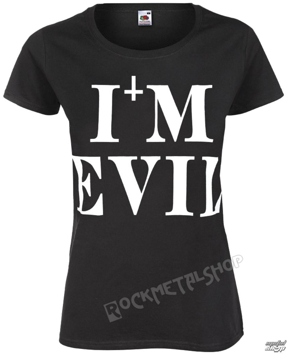 tričko dámske AMENOMEN - I'M EVIL - OMEN058DA